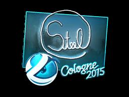 Наклейка | steel (металлическая) | Кёльн 2015