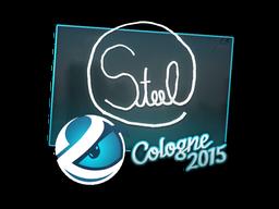 Наклейка | steel | Кёльн 2015