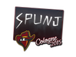 Sticker SPUNJ | Cologne 2015