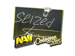 Наклейка | seized | Кёльн 2015