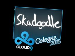 Наклейка | Skadoodle | Кёльн 2015