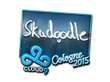 Sticker Skadoodle (Foil)   Cologne 2015