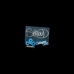 Sticker   shroud   Cologne 2015