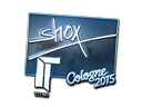 Sticker | shox (Foil) | Cologne 2015