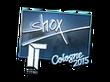 Sticker shox (Foil) | Cologne 2015