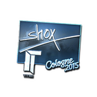 Sticker | shox (Foil) | Cologne 2015