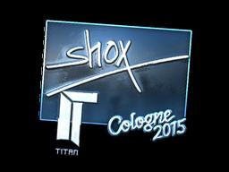 Наклейка | shox (металлическая) | Кёльн 2015