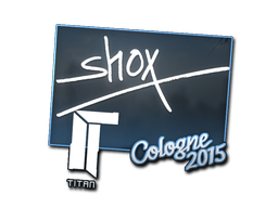 Sticker | shox | Cologne 2015
