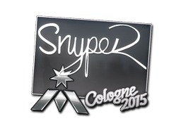 Наклейка   SnypeR   Кёльн 2015