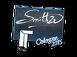 Sticker SmithZz | Cologne 2015