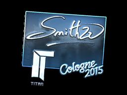 Наклейка | SmithZz (металлическая) | Кёльн 2015