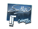 Sticker | SmithZz (Foil) | Cologne 2015