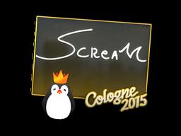 Наклейка | ScreaM | Кёльн 2015