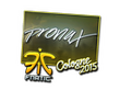 Sticker pronax (Foil) | Cologne 2015
