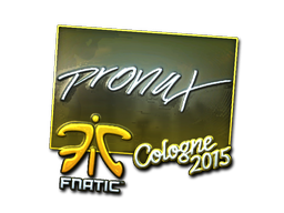 Sticker | pronax (Foil) | Cologne 2015