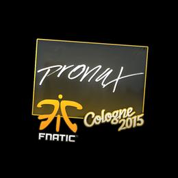 pronax | Cologne 2015