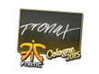 Sticker pronax | Cologne 2015
