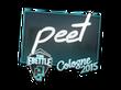 Sticker peet | Cologne 2015