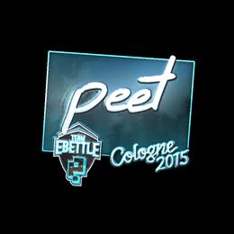 peet (Foil) | Cologne 2015