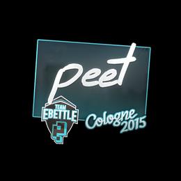 peet | Cologne 2015