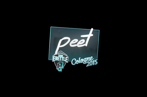 Sticker | peet | Cologne 2015 Prices