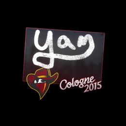 yam | Cologne 2015