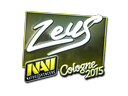 Sticker | Zeus (Foil) | Cologne 2015
