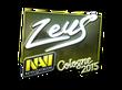 Sticker Zeus (Foil) | Cologne 2015