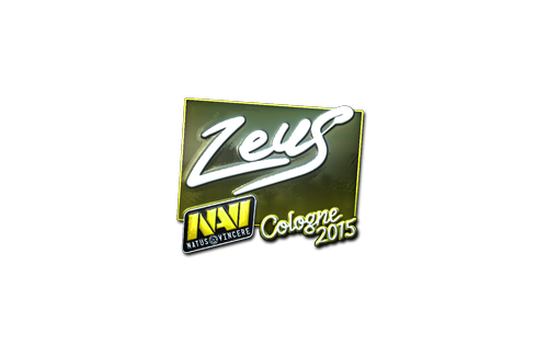 Sticker | Zeus (Foil) | Cologne 2015 Prices