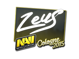 Sticker | Zeus | Cologne 2015