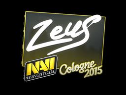 Наклейка | Zeus | Кёльн 2015