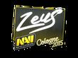 Sticker Zeus | Cologne 2015