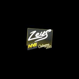 Sticker   Zeus   Cologne 2015