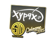 Sticker Xyp9x | Cologne 2015