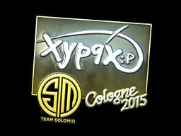 Наклейка | Xyp9x (металлическая) | Cologne 2015