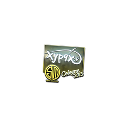 Sticker | Xyp9x (Foil) | Cologne 2015