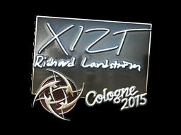 Наклейка | Xizt (металлическая) | Кёльн 2015