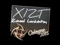 Наклейка | Xizt | Кёльн 2015