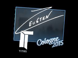 Наклейка | Ex6TenZ | Кёльн 2015