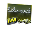 Sticker | Edward (Foil) | Cologne 2015