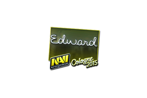 Sticker | Edward (Foil) | Cologne 2015 Prices