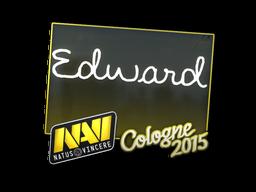 Наклейка | Edward | Кёльн 2015