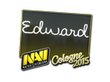 Sticker Edward | Cologne 2015