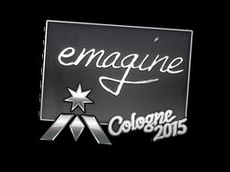 Наклейка | emagine | Кёльн 2015