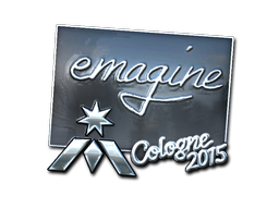 Sticker | emagine (Foil) | Cologne 2015