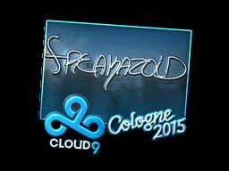 Наклейка   freakazoid (металлическая)   Кёльн 2015