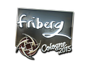 Sticker | friberg (Foil) | Cologne 2015
