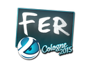Sticker | fer | Cologne 2015