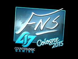 Наклейка | FNS (металлическая) | Cologne 2015