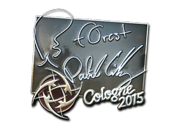 Sticker | f0rest (Foil) | Cologne 2015